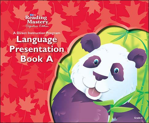 9780076122011: Reading Mastery: Language Presentation Book A, Grade K