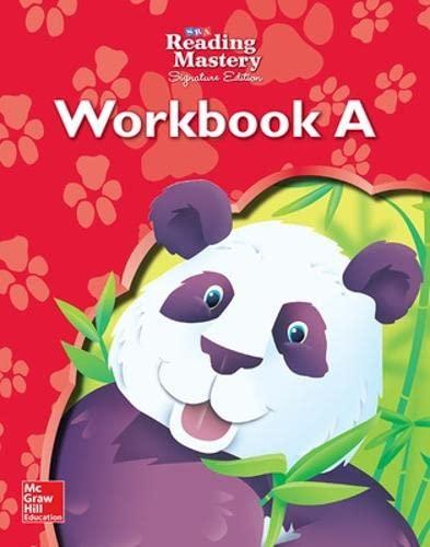 9780076122080: Reading Mastery - Reading Workbook A - Grade K