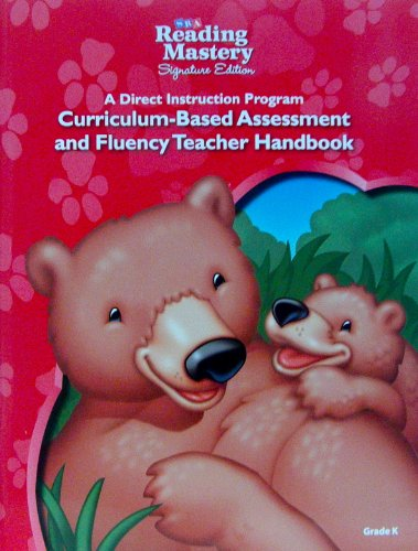 9780076122233: Reading Mastery Curriculum Based Assessment and Fluency Teacher Handbook