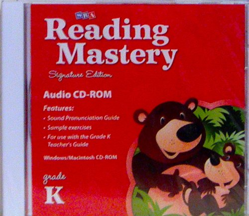 9780076122394: SRA Reading Mastery Signature Edition Audio CD-ROM (Grade K)