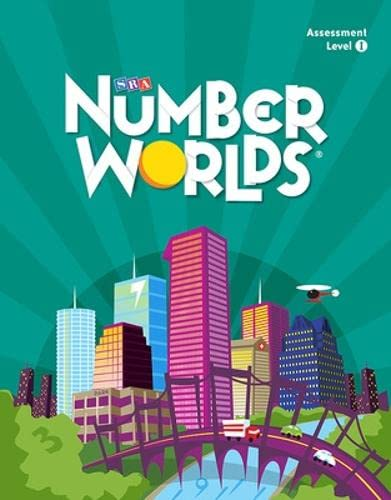 9780076123957: Number Worlds: Level I Assessment Package 2007-2008