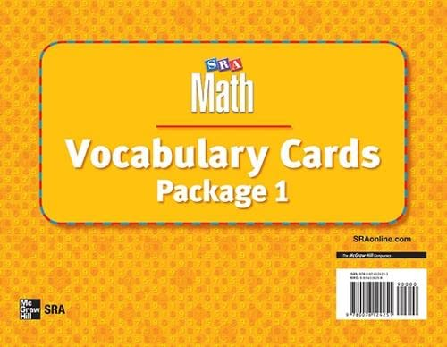 9780076124251: Number Worlds: Vocabulary Card Package I