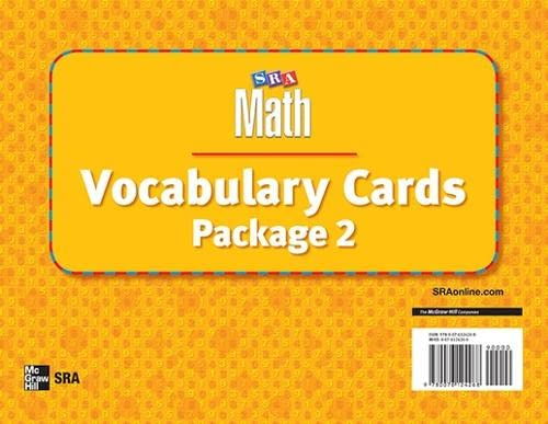 9780076124268: Number Worlds, Vocabulary Card Package II (NUMBER WORLDS 2007 & 2008)