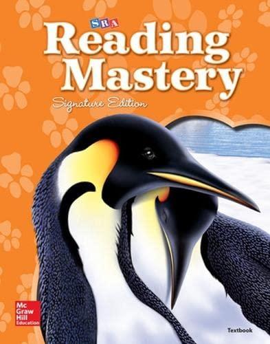 Reading Mastery Reading/Literature Strand Transition Grade 1-2,: McGraw-Hill Education