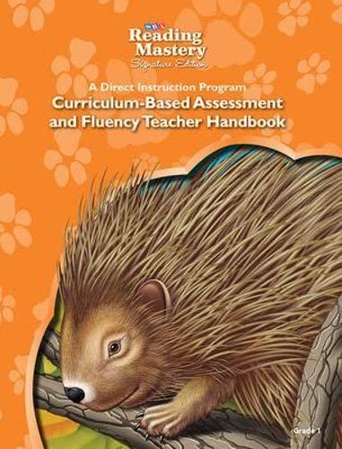 9780076124695: Reading Mastery - Assessment & Fluency Teacher Handbook - Grade 1