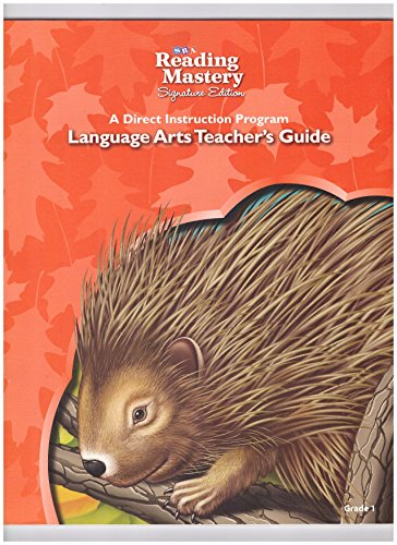 9780076124879: SRA Reading Mastery Signature Edition A Direct Instruction Program Language Arts Teacher's Guide Grade 1 ISBN 0076124878