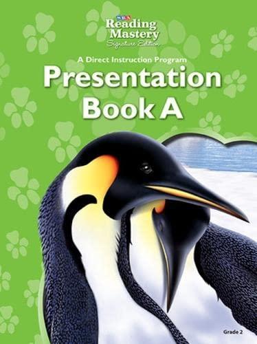 9780076125340: Reading Mastery - Reading Presentation Book A - Grade 2