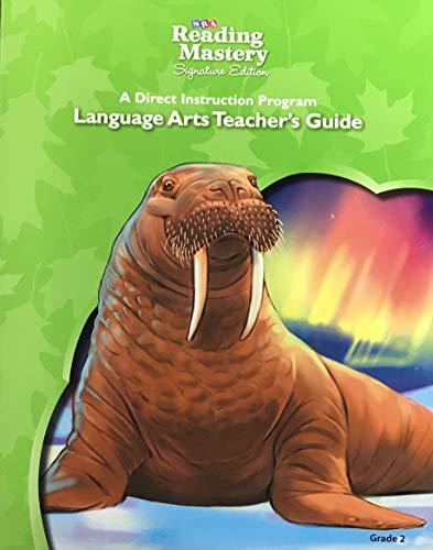 9780076125685: SRA Reading Mastery, Signature Edition, Language Arts Teacher's Guide, Grade 2 ISBN 0076125688