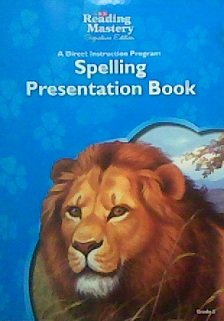 9780076125807: Spelling Presentation Book, Grade 3 (SRA Reading Mastery, Signature Edition)