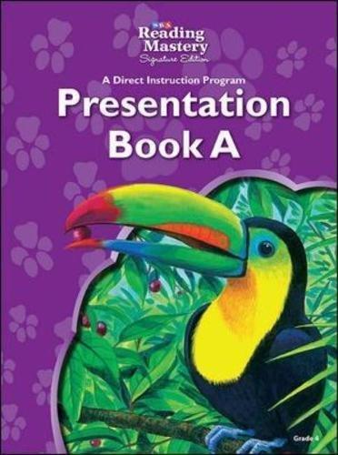 9780076126170: Reading Mastery - Reading Presentation Book A - Grade 4