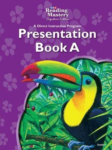 9780076126415: Reading Mastery - Language Presentation: Book A - Grade 4