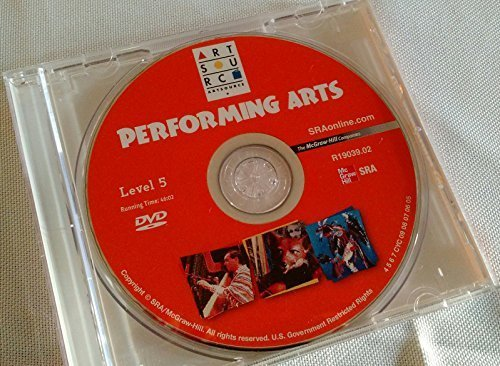 9780076128778: SRA Artsource Performing Arts Resource Package - Level 5 (SRA Art Connections, Level 5)