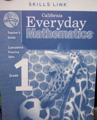 9780076128792: California Everyday Mathematics Skills Links Grade 1 (UCSMP, Teacher's Guide)