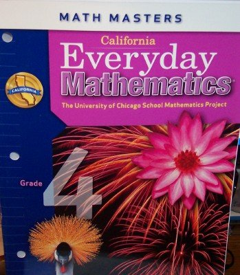 9780076128952: California Everyday Mathematics Math Masters (UCSMP)