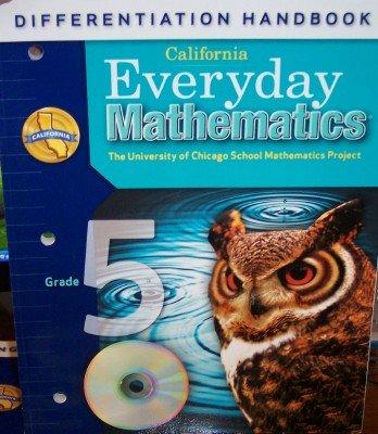 9780076129300: California Everyday Mathematics Differentiation Handbook Grade 5 (UCSMP)