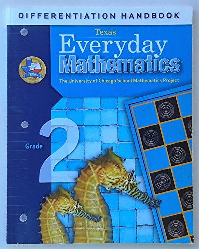 9780076129331: Differentiation Handbook (Texas) Everyday Mathematics: Grade 2 (The University of Chicagho School Mathematics Project)