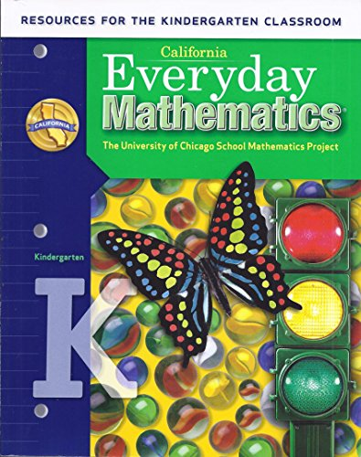 9780076129621: California Everyday Mathematics Resources for the Kindergarten Classroom