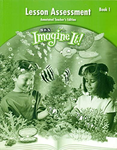 SRA Imagine it!: Lesson Assessment - Book 1, Grade 2, Teachers Edition: McGraw Hill/SRA