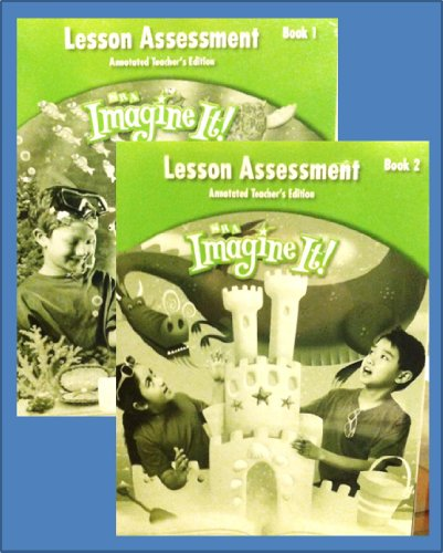 9780076130870: Lesson Assessment, Annotated Teacher's Edition, Level 2 Books 1 and 2 (SRA Imagine It!)