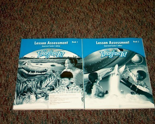 9780076130962: SRA Imagine It! Lesson Assessment Book 1 and Book 2 (SRA 3)