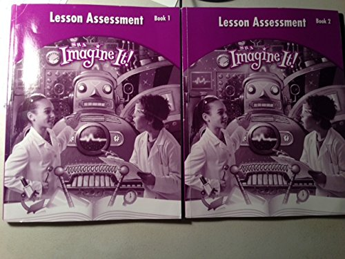 9780076130986: SRA Imagine It! Lesson Assessment Book 1 & 2 (Level 4)