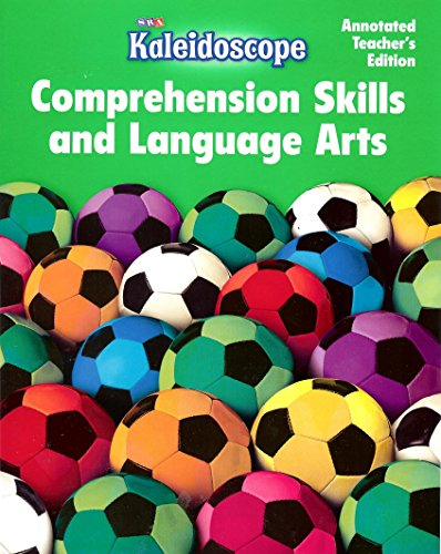 9780076143122: SRA Kaleidoscope Annotated Teacher's Edition (Comprehension Skills and Language Arts Level F)