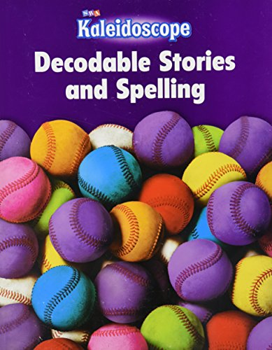 9780076143467: Kaleidoscope - Decodable Stories and Spelling Workbook - Level E