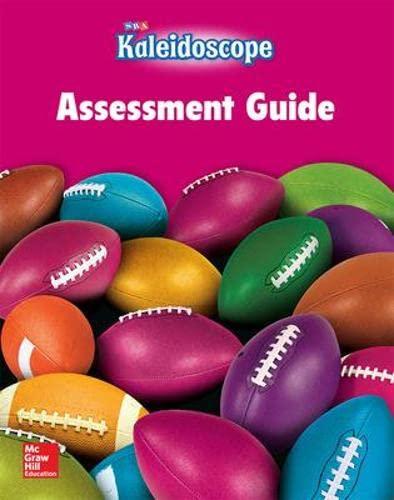 9780076143764: Kaleidoscope - Assessment Workbook - Level G