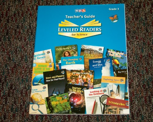 9780076145102: SRA Teacher's Guide Leveled Readers for Science Grade 3 Paperback Book