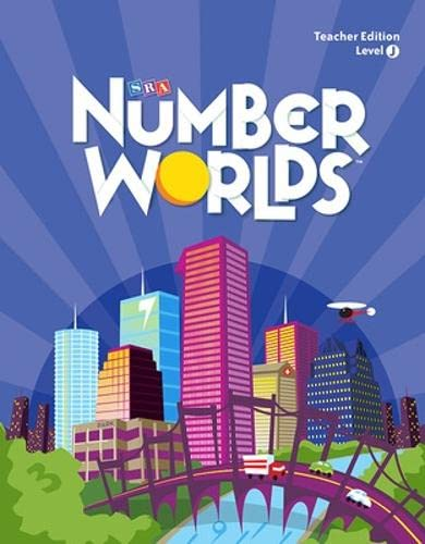9780076145454: Number Worlds Level J, Teacher Edition (NUMBER WORLDS 2007 & 2008)