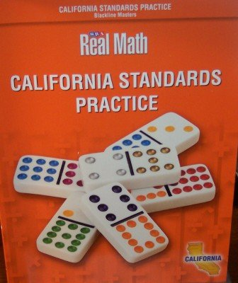 9780076145836: California Standards Practice Grade 1 (SRA Real Math, Blackline Masters)