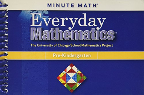 9780076149254: Everyday Mathematics, Grade Pre-K, Minute Math (R)