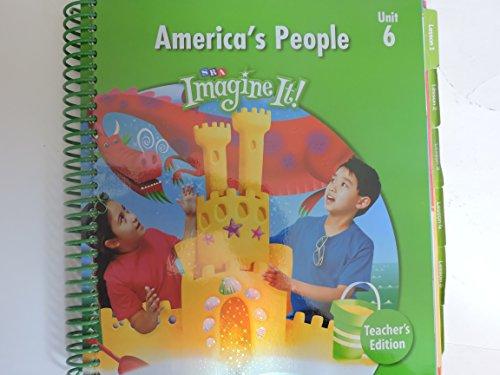 9780076164738: SRA Imagine It! Level 2, Unit 6: America's People