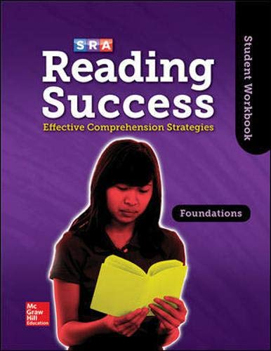 9780076184804: Reading Success Foundations, Student Workbook (SRA READING SUCCESS)