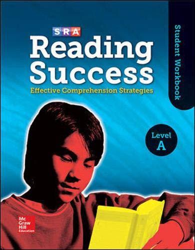 9780076184811: Reading Success Level A, Student Workbook (SRA READING SUCCESS)