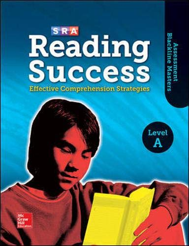 9780076184859: Reading Success Level A - Additional Blackline Masters (SRA Reading Success)