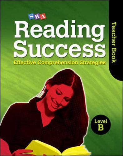 9780076185078: Reading Success Teacher Book - Level B (SRA Reading Success)