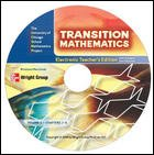 The University of Chicago School Mathematics Project Transition Mathematics Electronic Teacher's Edition Volume 2 Chapters 7-12 CD-ROM (0076185893) by Wright Group