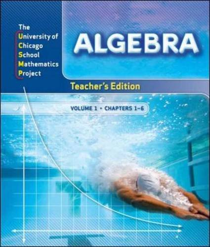9780076185931: Algebra: Teacher's Edition 2 Volume Set