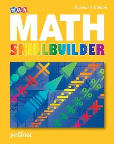 9780076186129: SRA Math Skillbuilder - Teacher Edition Level 5 - Yellow