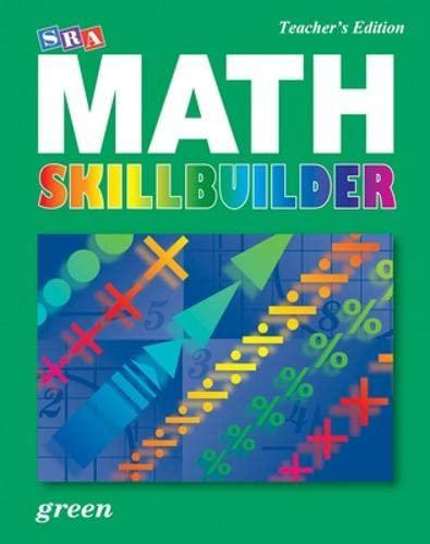 9780076186136: SRA Math Skillbuilder - Teacher Edition Level 6 - Green