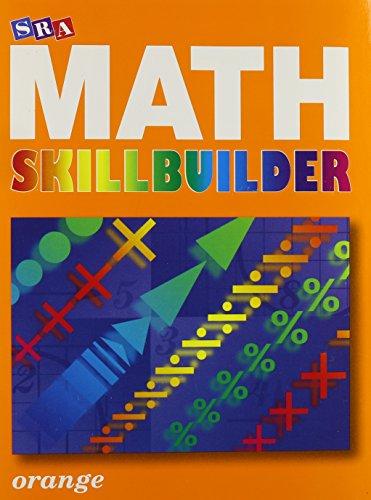 9780076186198: SRA Math Skillbuilder Level 4 Orange