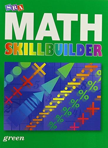 9780076186211: SRA Math Skillbuilder Green