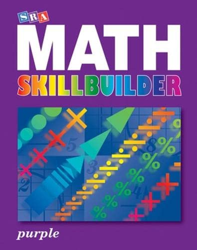 9780076186235: SRA Math Skillbuilder - Student Edition Level 8 - Purple (SPECTRUM MATH)