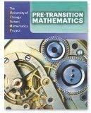 9780076189274: Pre-Transition Mathematics, Vol. 1 Teacher's Edition