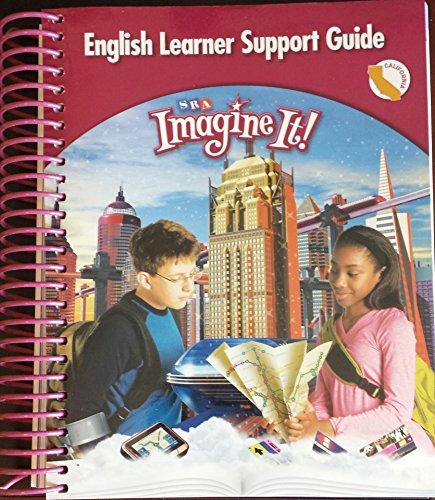 9780076196463: SRA Imagine It! Level 6 English Learner Support Guide California Edition (Imagine It!)
