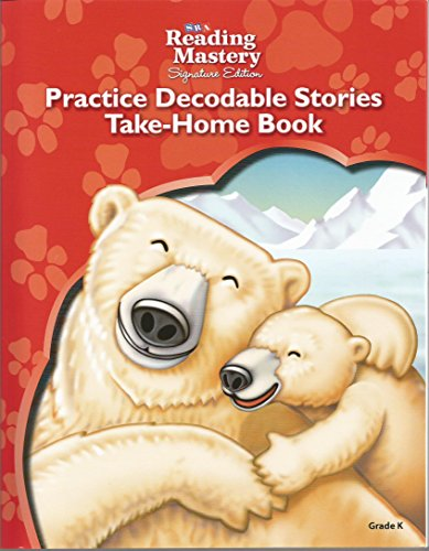 9780076208630: SRA Reading Matery Practice Decodable Stories Take-Home Book Grade K