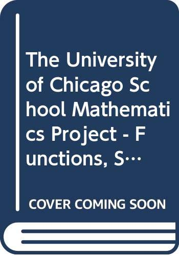 9780076214082: The University of Chicago School Mathematics Project: Functions, Statistics and Trigonometry, Teachers Edition