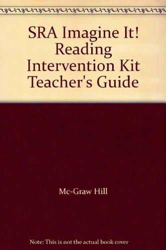 9780076216390: SRA Imagine It! Reading Intervention Kit Teacher's Guide