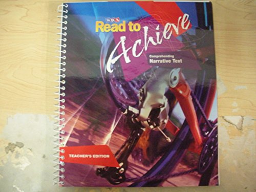 9780076219971: SRA Read to Achieve Comprehending Narrative Text Teacher's Edition
